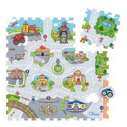 Puzzlematte City