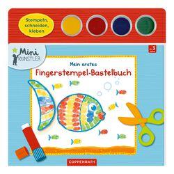 Mini Künstler Mein erstes Fingerstempel-Bastelbuch