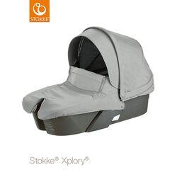 Stokke® Kinderwagen Babyschale grey melange