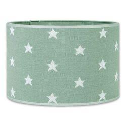 Lampenschirm Star mint / weiß