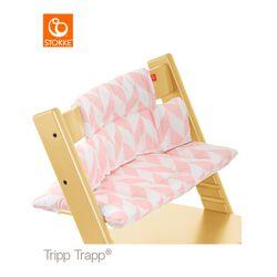 Kissen Pink Chevron tripp trapp beschichtet
