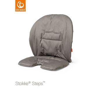 Steps Kissen grau-beige