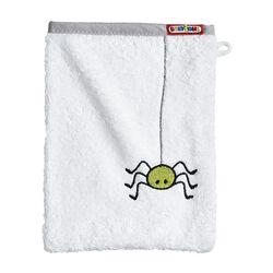 Waschhandschuh Spinne
