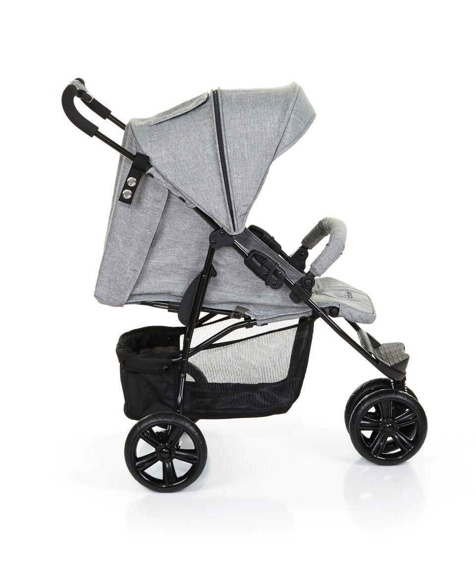 Shopper Treviso 3 Woven-Grey