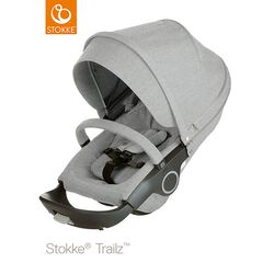 Stokke® Kinderwagensitz Grey Melange
