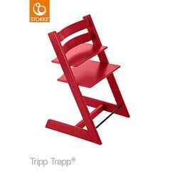 Hochstuhl Tripp Trapp in rot von Stokke