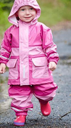 Regen-Anzug Basic pink/rose