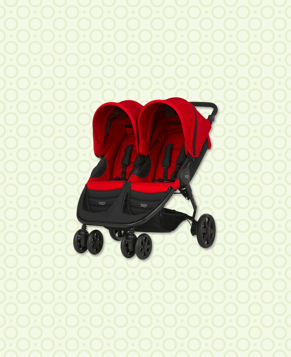 Britax B-Agile Double Flame Red