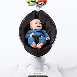 mamaRoo 3D-Babywippe Classic black