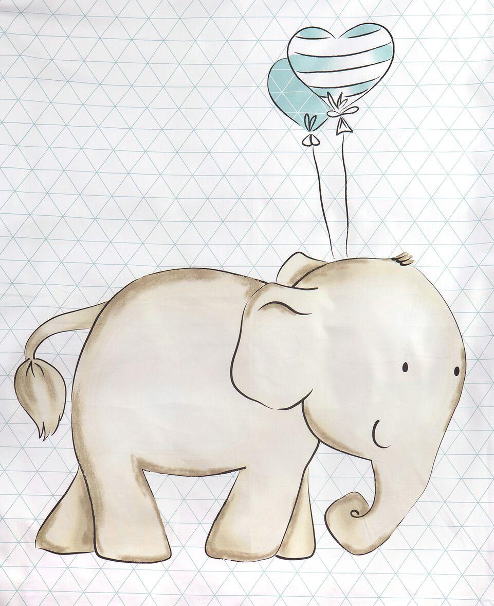 Bettset Nordic Elefant
