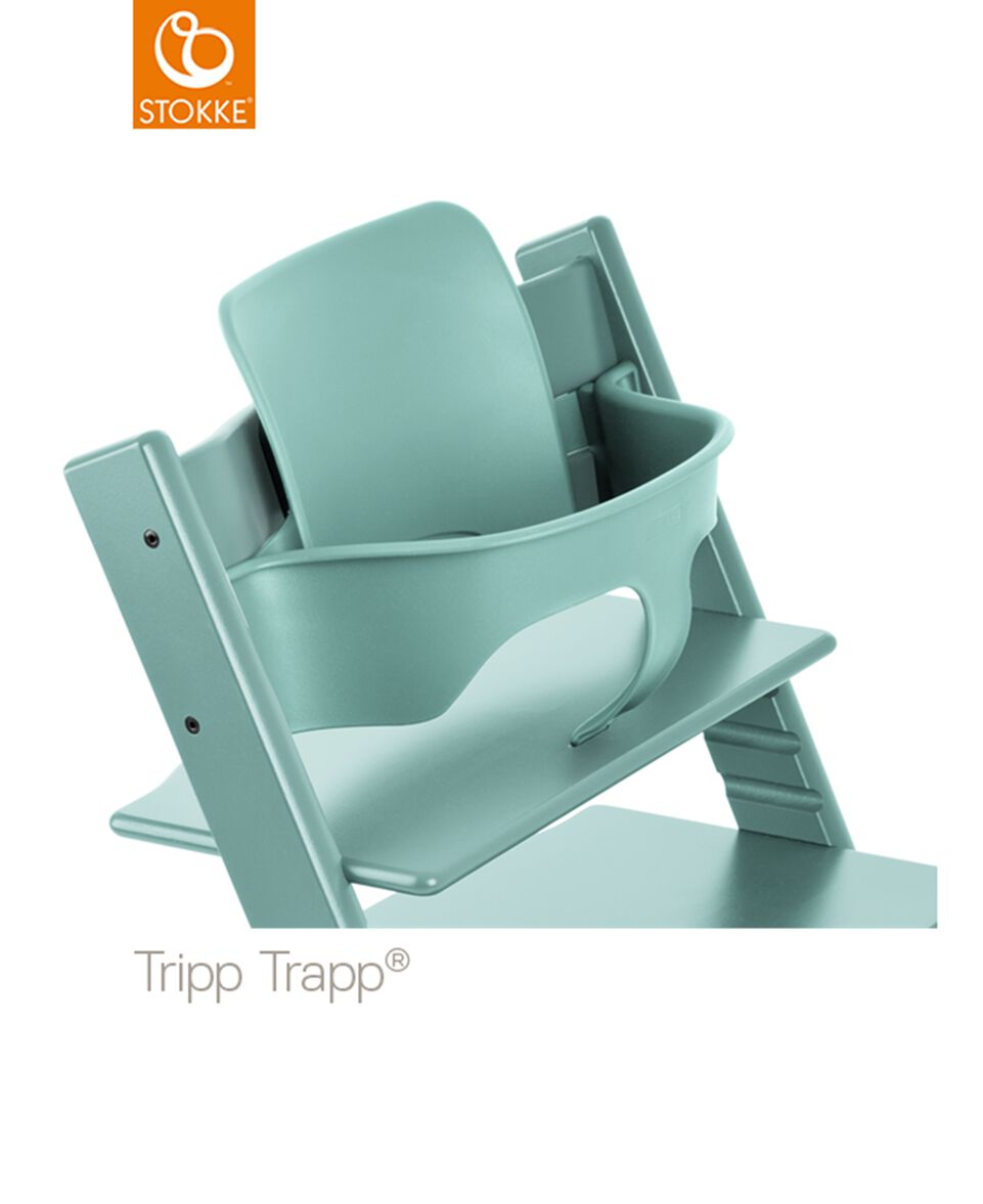 tripp trapp baby set aqua blau. Black Bedroom Furniture Sets. Home Design Ideas