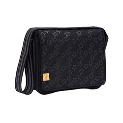Messenger Bag Reflective Stars black