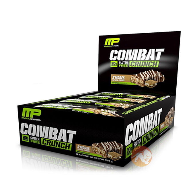 Combat Crunch Bars 6 Bars Chocolate Brownie
