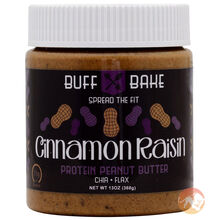 Cinnamon Raisin Peanut Butter