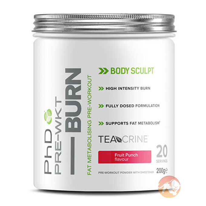 Pre-Wkt Burn 20 Servings Fruit Punch