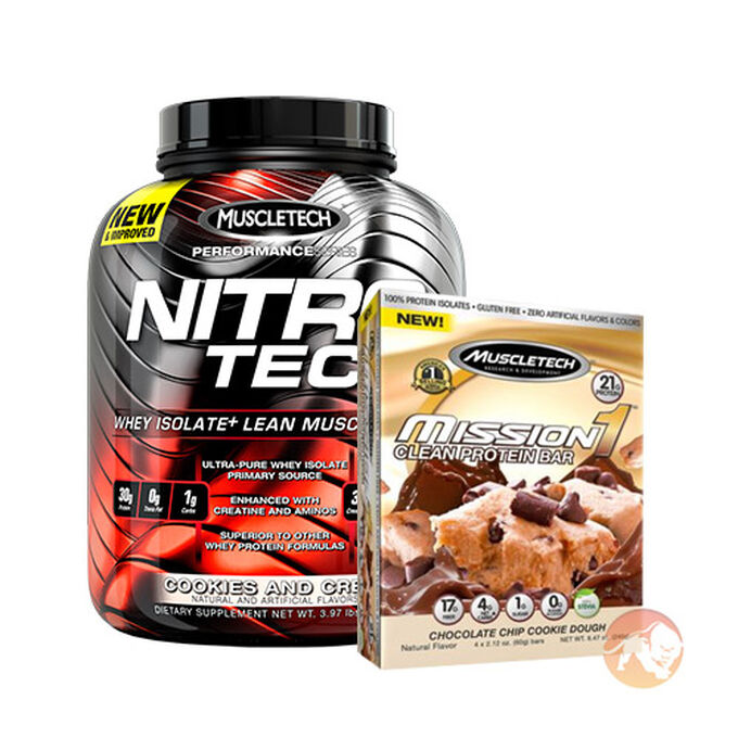 Nitro-Tech Performance Series 1.8kg Milk Chocolate