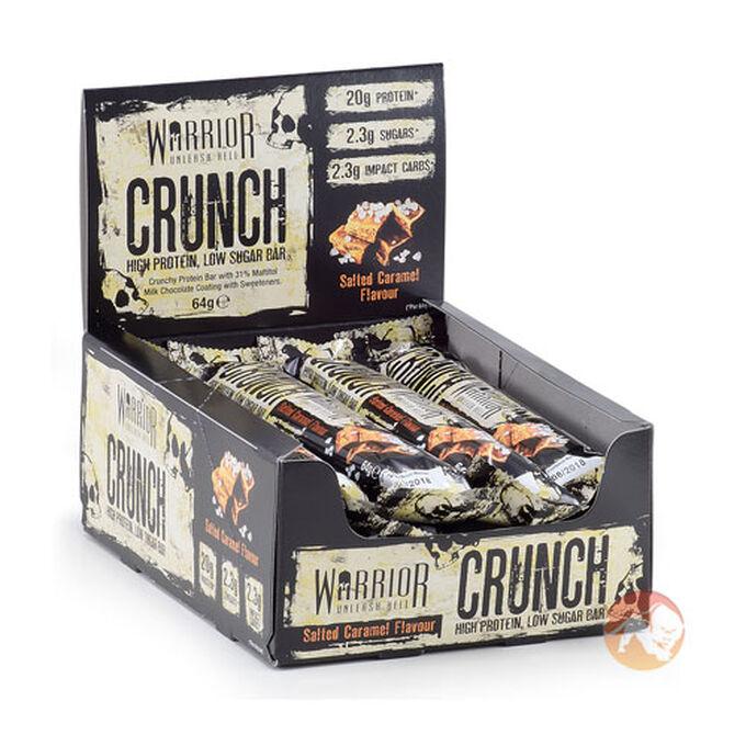 Warrior Crunch 12 Bars Salted Caramel