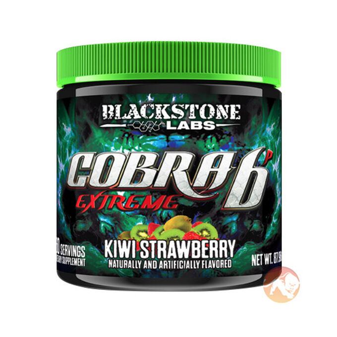 Cobra 6P Extreme 60 Servings Kiwi Strawberry