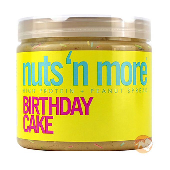Nuts n More Peanut Butter 454g Birthday Cake