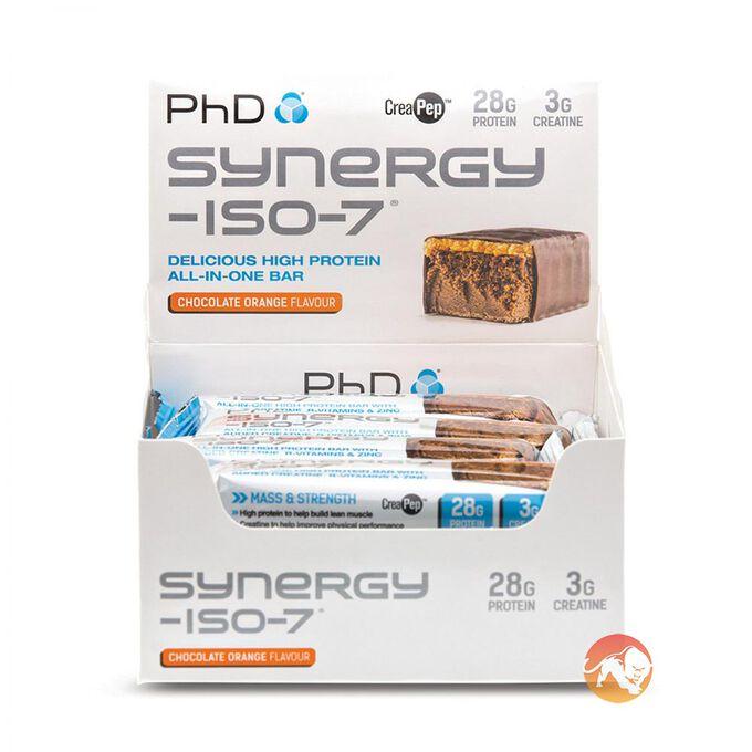 Synergy Iso-7 12 Bars - Chocolate Mint