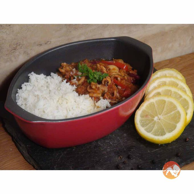 Baby Octopus in a Spicy Black Bean Sauce 450g