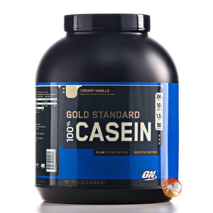 Gold Standard 100% Casein Protein 4lb  - Banana Cream