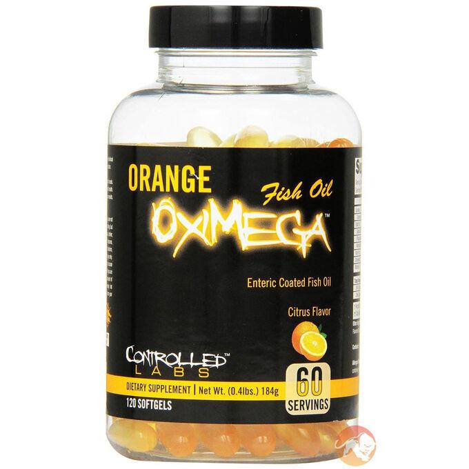 Orange Oximega 120 Softgels