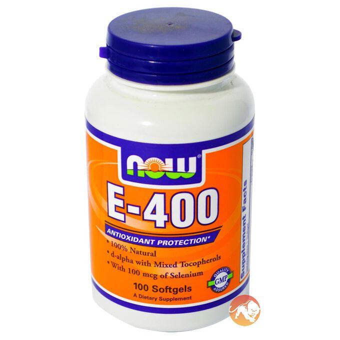 E-400 DA 100 Softgels