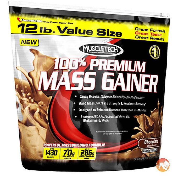 100% Mass Gainer 5.4kg - Chocolate