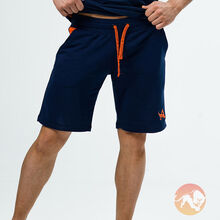 Shorts Navy Orange