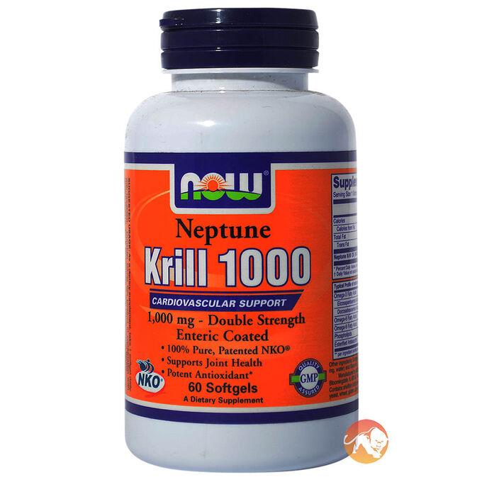 Neptune Krill Oil 500mg 120 Softgels