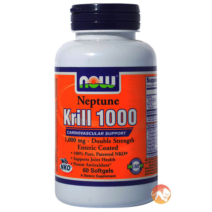 Now foods neptune krill oil free p p predator nutrition for Krill or fish oil
