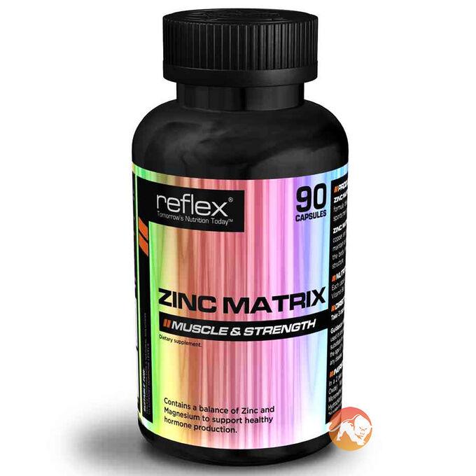 Zinc Matrix 90 Caps