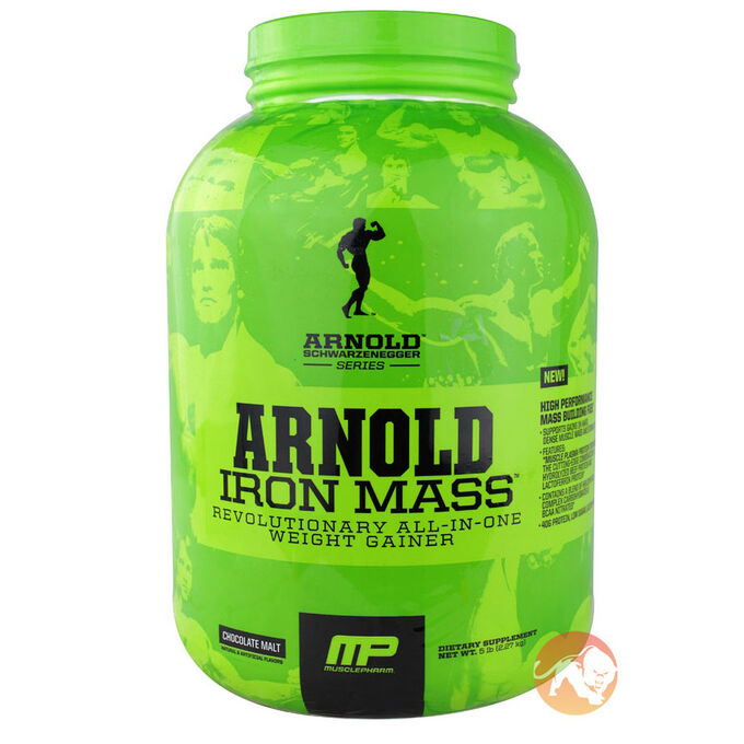 Iron Mass 10lb - Banana Cream