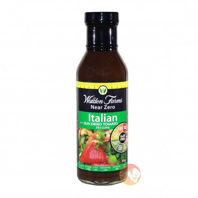 Calorie Free Italian Sun Dried Tomato Dressing 355ml