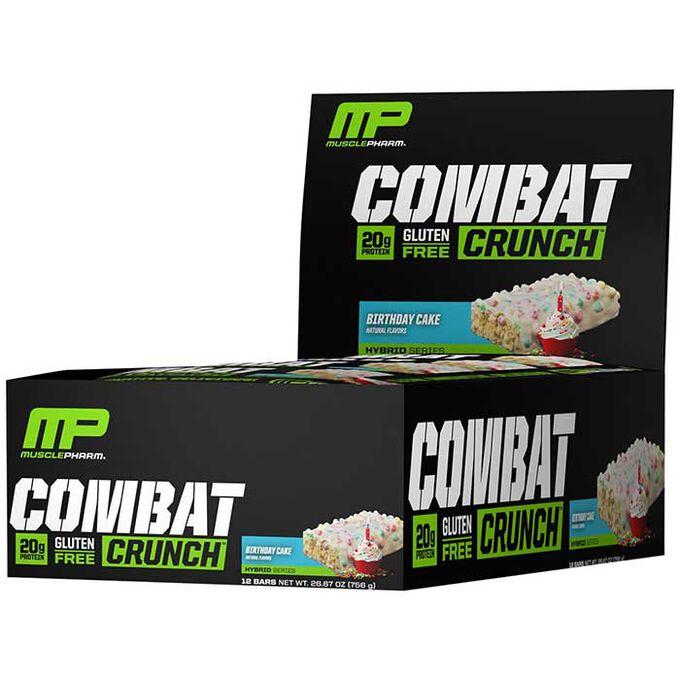 Combat Crunch Bars 12 Bars Birthday Cake