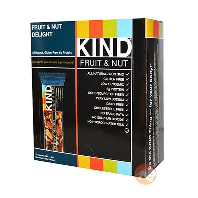 Kind Bars 12 Bars Fruit and Nut