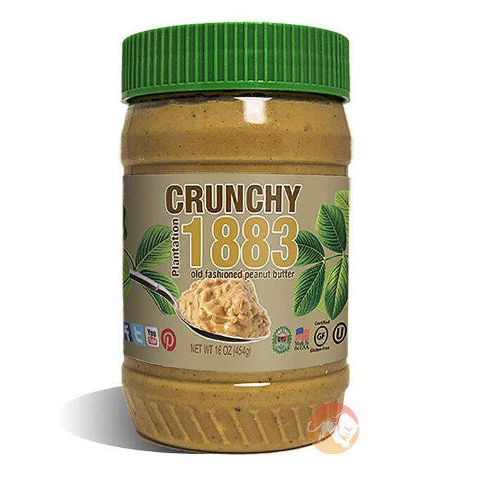 Plantation Crunchy 1883 - Peanut Butter 454g