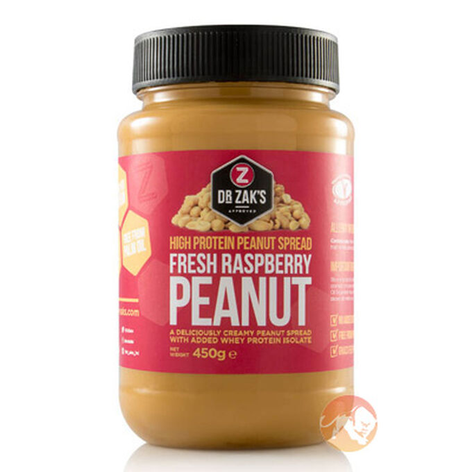 High Protein Peanut Spread 450g Fresh Raspberry