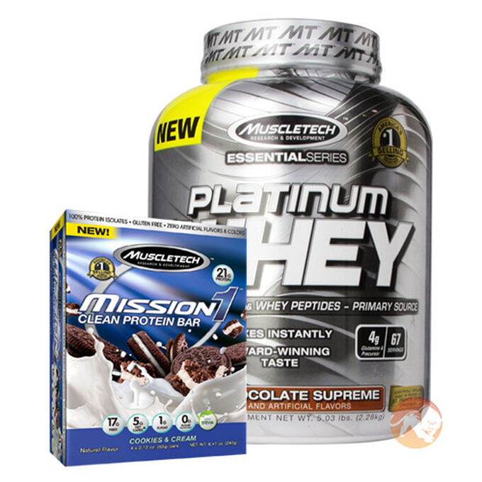 Platinum 100% Whey 5lb - Cookies & Cream