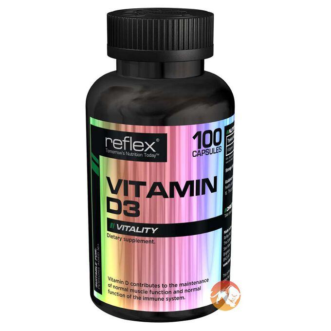 Vitamin D-3 100 Caps
