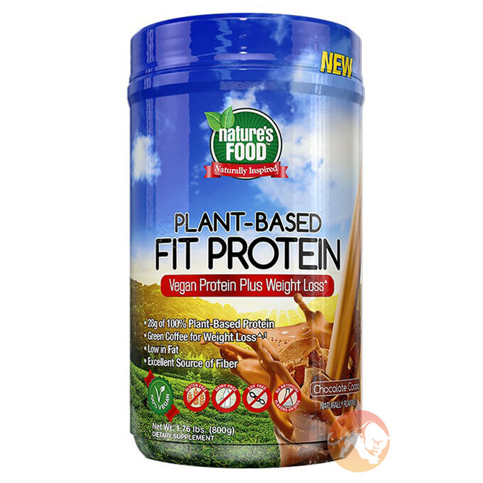 Plant Based Fit Protein 800g Chocolate Cocoa