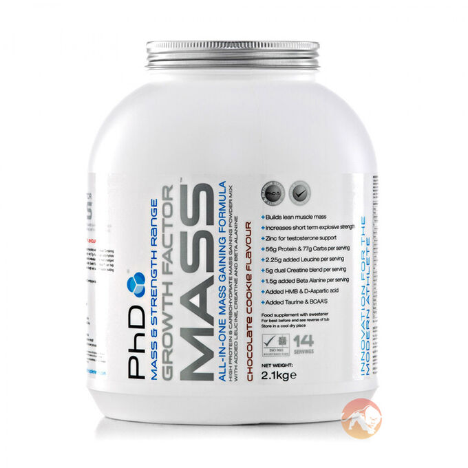 Growth Factor Mass 4.05kg - Chocolate Cookie