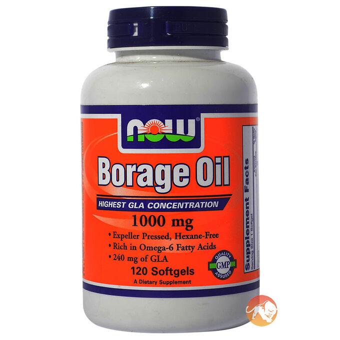 Borage Oil 120 Softgels