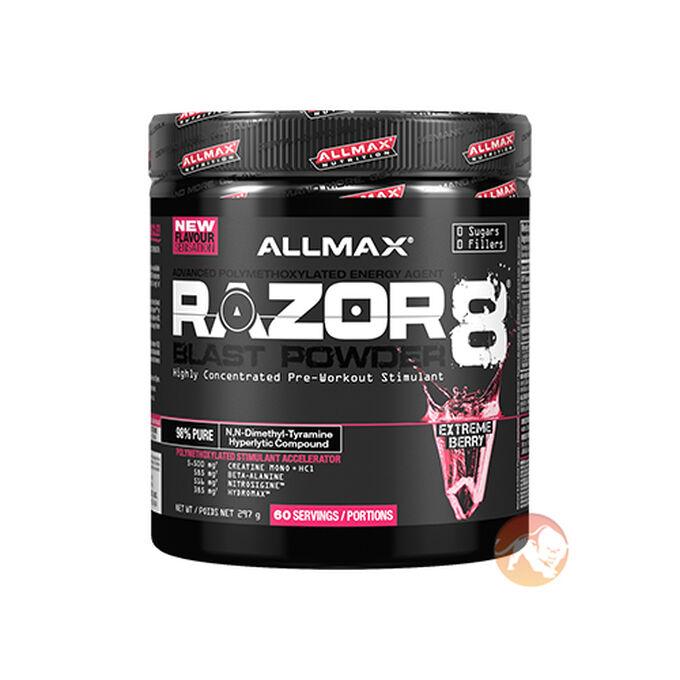Razor8 Blast Powder 30 Servings Extreme Berry