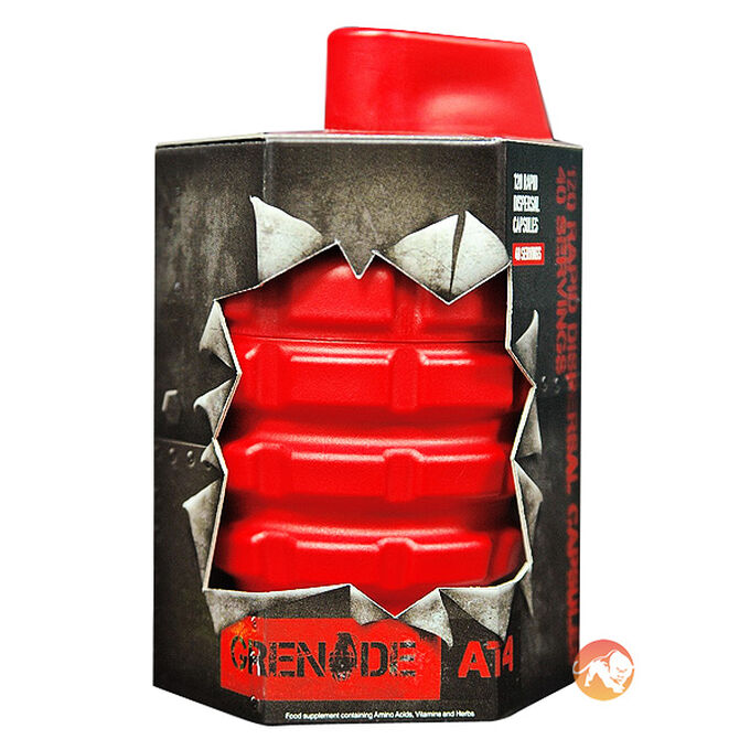 Grenade .50 Calibre Pre-Workout 20 Servings Lemon Raid