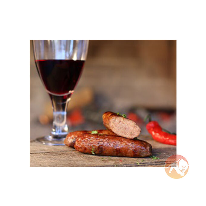 Zebra Sausages (6 in a 360g Pack)