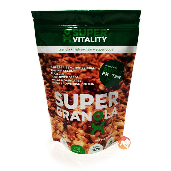 Super Granola Blueberry and Cranberries 500g
