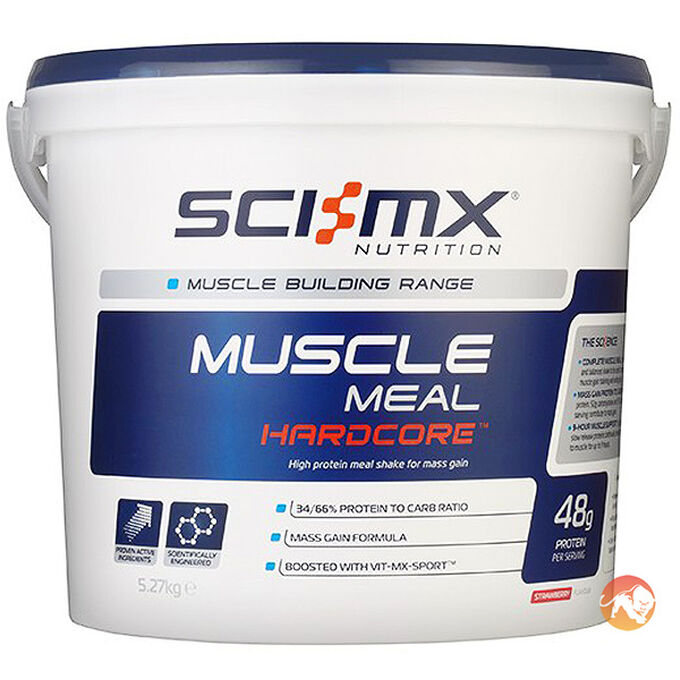 Muscle Meal Hardcore 5.27kg - Chocolate