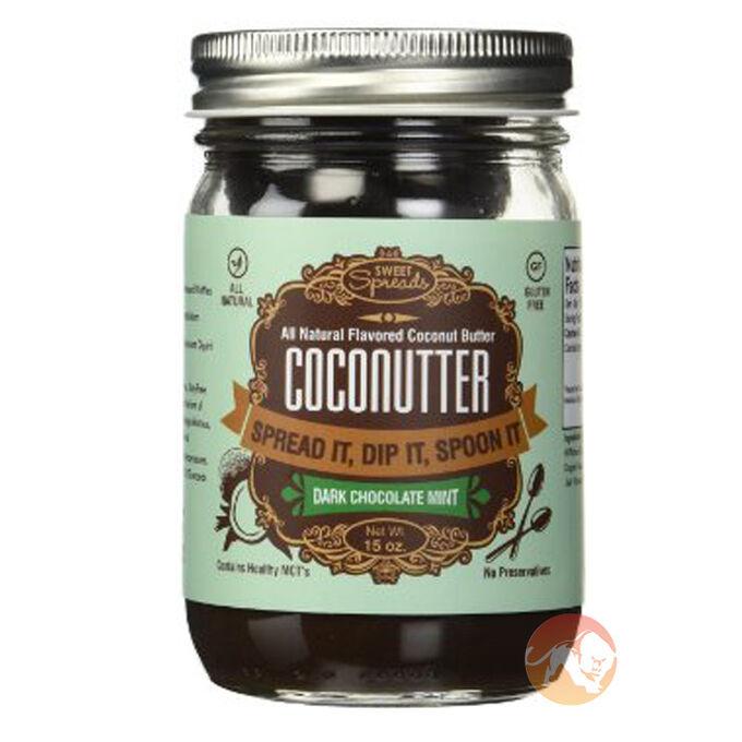 Coconutter 425g/15oz Dark Chocolate Mint